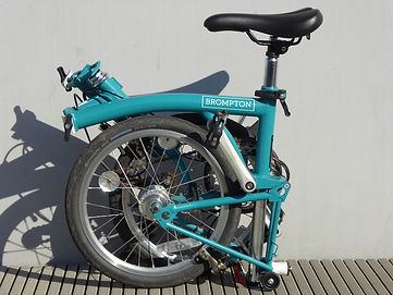 brompton folder folded bicycle cycle B75