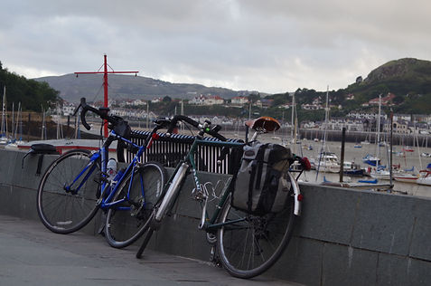 Bicycles cycles Conway Conwy river NCR5
