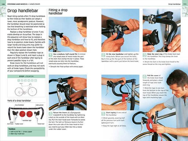 Bicycle Biek repair manula, chris sidwell Dorling Kindersley