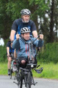 Pilgrim Bandits Operation ride Traini9ng Amputee cycling adaptive Hase Pino