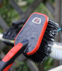 bike brush wash clean bicycle