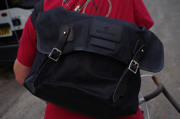 carradice kelbrook satchel bag cycling messenger ride commute bag bicycle