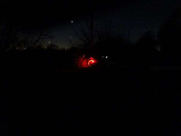 bike bicycle cycle light rear night