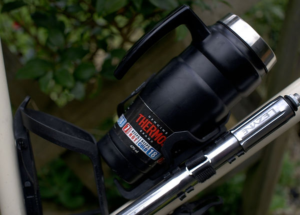 bike bicycle cycle thermos pump cage bottle
