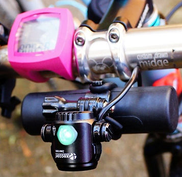 Xeccon 1300 lumen bicycle front light