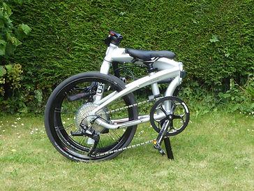 folded bicycle tern verge P10