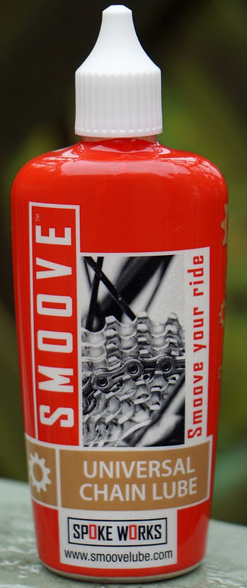 Smoove Universal chain Lube test review bicycle cycle lubricant oil