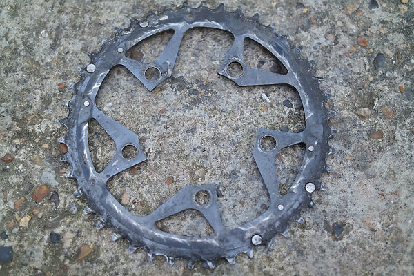 grease chain wheel