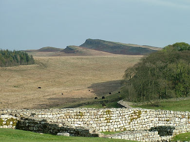 Hadrian's Wall, whin sill, northumberland