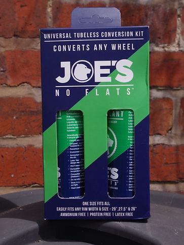 Joe's No Flats Universal Tubeless Conversion Kit test review