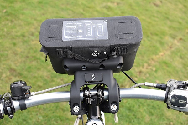 Battery bag bar pack swytch control panel