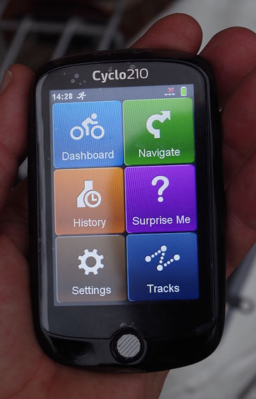 Mio cylo 210 gps cycle bike hike device cycling