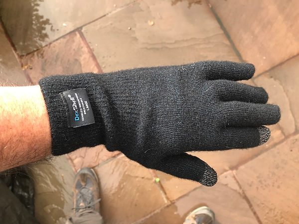glove cuff cycling walking hiking gear