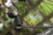 bicycle cycle bike rear mech jockey wheels