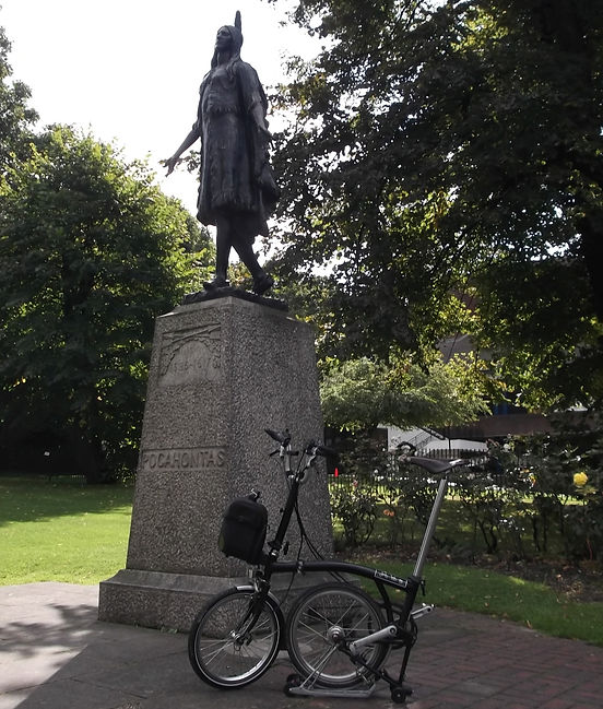 Pocohontas with Brompton, St.George's, Gravesend