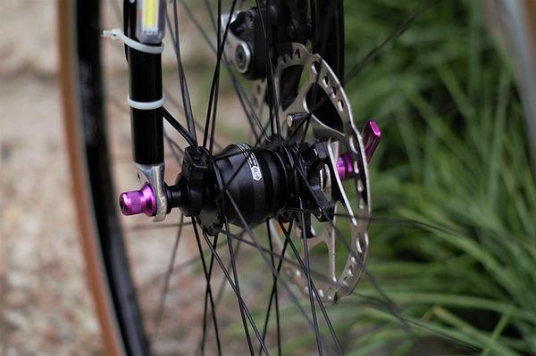 Shutter Precision Dynohub with Halo Evura Wheel build
