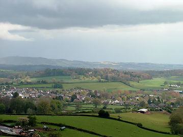 quantock hill wiveliscombe view somerset