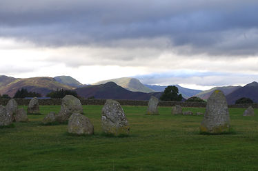 Castlerigg stone circle, lake district, cumbria