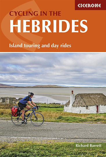 Cicerone Cycling in the Henrides Richard Barrett Cycle touring guide review