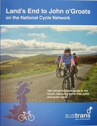 Sustrans, LEJOG, route, guide, national, cycle, network, land's, end, john, groats