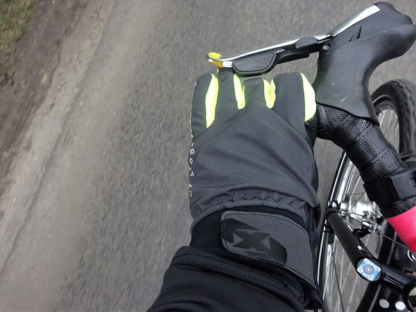 Oxford bright 4.0 gloves review tes cycling bicycle bike