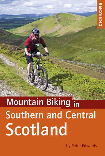 Cicerone Guide Mountain Biking in Southern South and Central Scotland