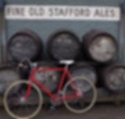 Bike and barrels pub cycling