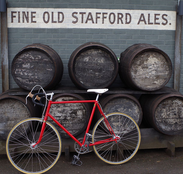 Bike and barrels pub cycling