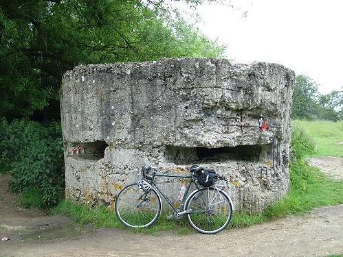 Machine gun post Hill 60 Ypres Ieper