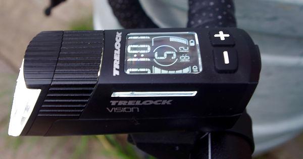 Trelock ls760 I-GO Vision front light test review