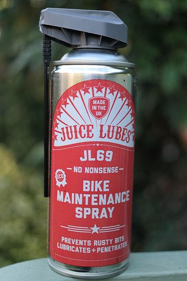 juice lube tin aerosol bike cycle bicycle spraty can