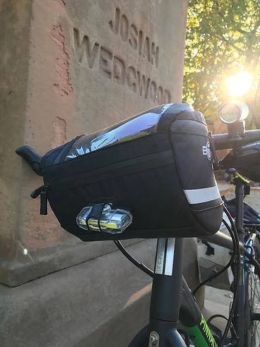 Handlebar bag Wedgwood Josiah BTR cyclign bike gear luggage