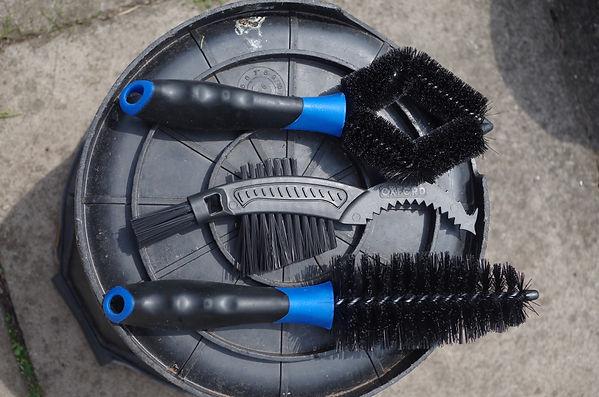 Oxford bike cleaning tiple brush set
