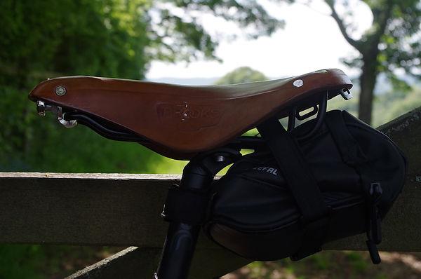 saddle bicycle bike brookes brooks seat pack bag zefal