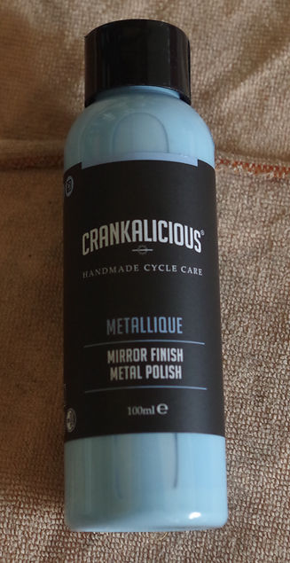 Crankalicious, metallique, metal polish