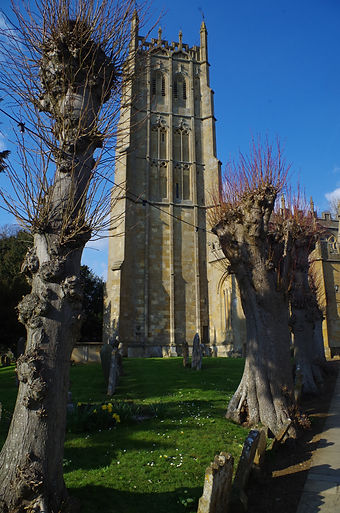 Church Tower chipping Campden Gloucestershire Cotswolds