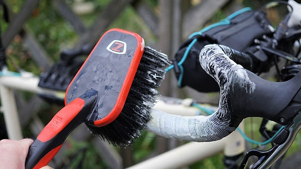 brush wash bicycle bar handle suds cleaner bicycle