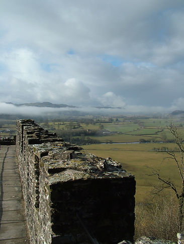 dynevor dynefor castle tywi valley view