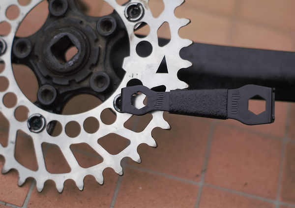 chain ring bolt tool spider crank