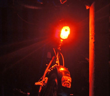 See Sense Icon plus rear bike cycle bicycle light