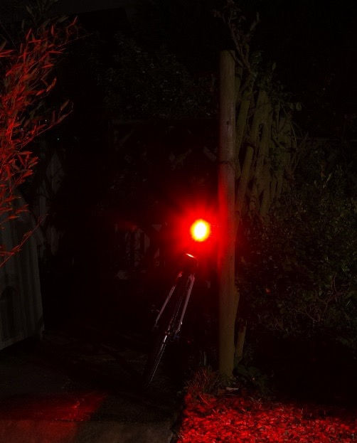 Kryptonite avenue rear light red bicycle cycle COB