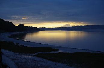 River Kent, Arnside, evening, sunset, Morecambe Bay Cycle Way