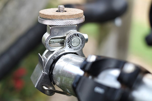 action camera cycling mount bar