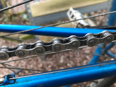 chain bicycle bike cycle