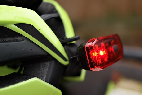 Oxford bright stop led rear light helmet mount test review cycle bike bicycle light