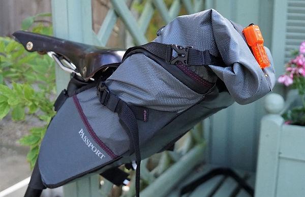 saddel seat pack bike bicycle luggage