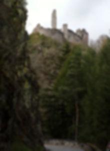 Ventadour castle chateau correze france