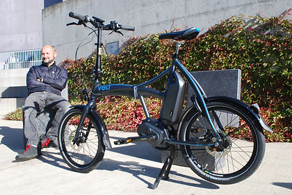 Volt Axis Richard Peace folding e-bike power assist test review