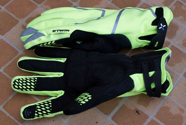 BTWIN WINTER COLD WEATHER CYCLING GLOVES
