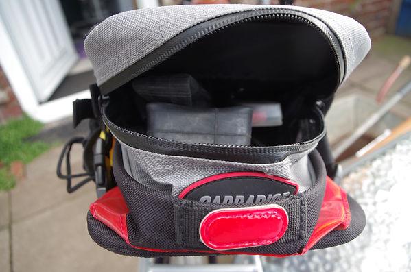 Carradice carradura cyce bicycle saddle bag pack maxi large